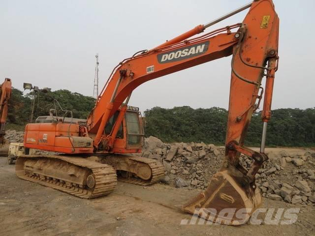 Doosan dx 300 lca ghana british company crawler for Lca construction