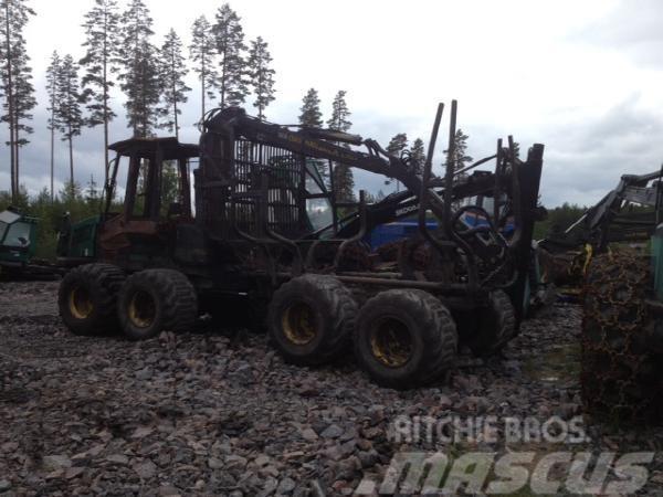 Timberjack 810B Demonteras