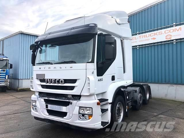Iveco STRALIS 440S42TX/P TIME SPACE 6x2 (MANUAL GEARBOX