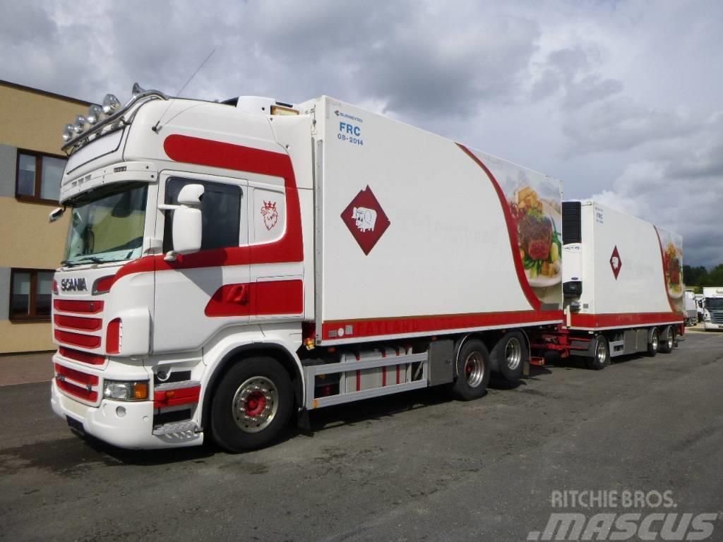Scania R620 6x2+EURO5+FRC+MEAT HOOKS