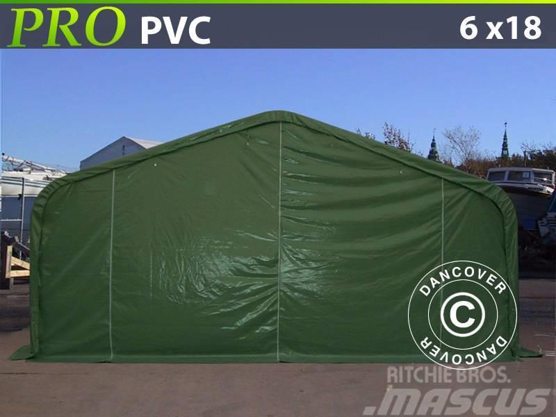 Dancover Storage Shelter 6x18x3,7m PVC, Telthal