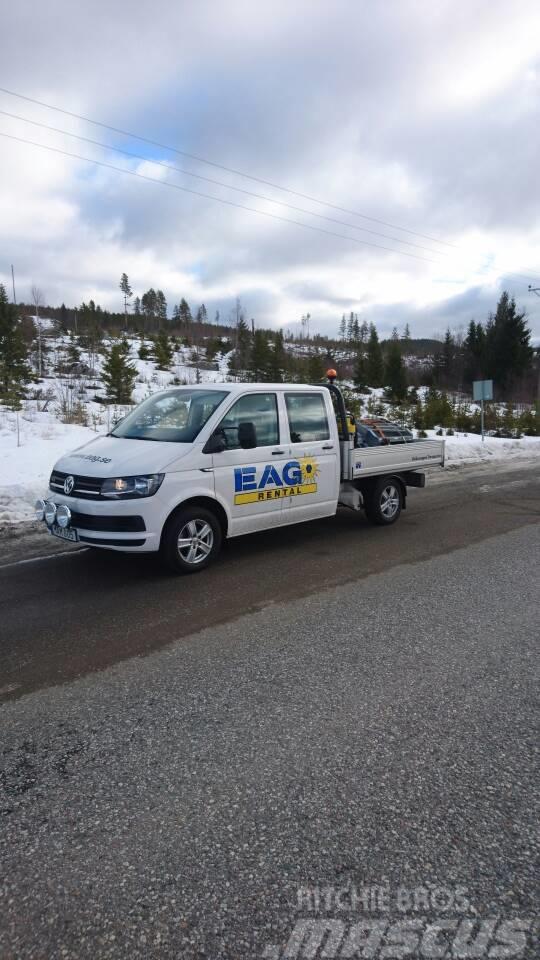 Volkswagen Arbetsbilar / UTHYRES, Lätta lastbilar