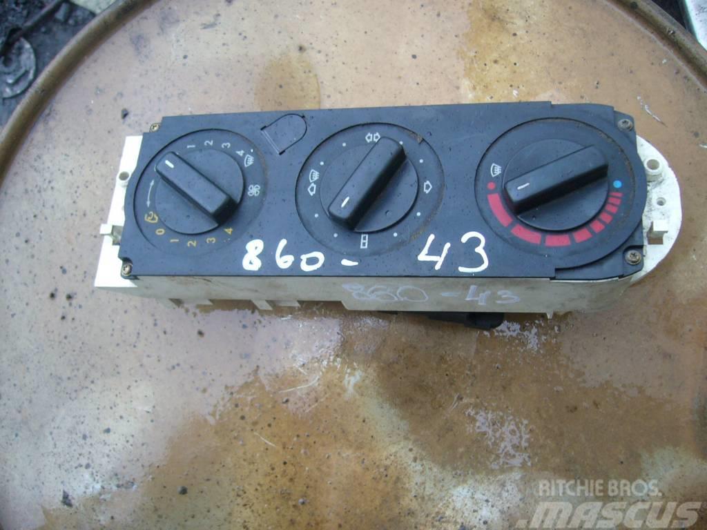 Mercedes-Benz ATEGO 1523 climate control control panel