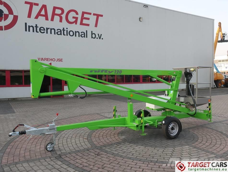 Niftylift 120ME Towable Boom Work Lift 1233cm NEW UNUSED
