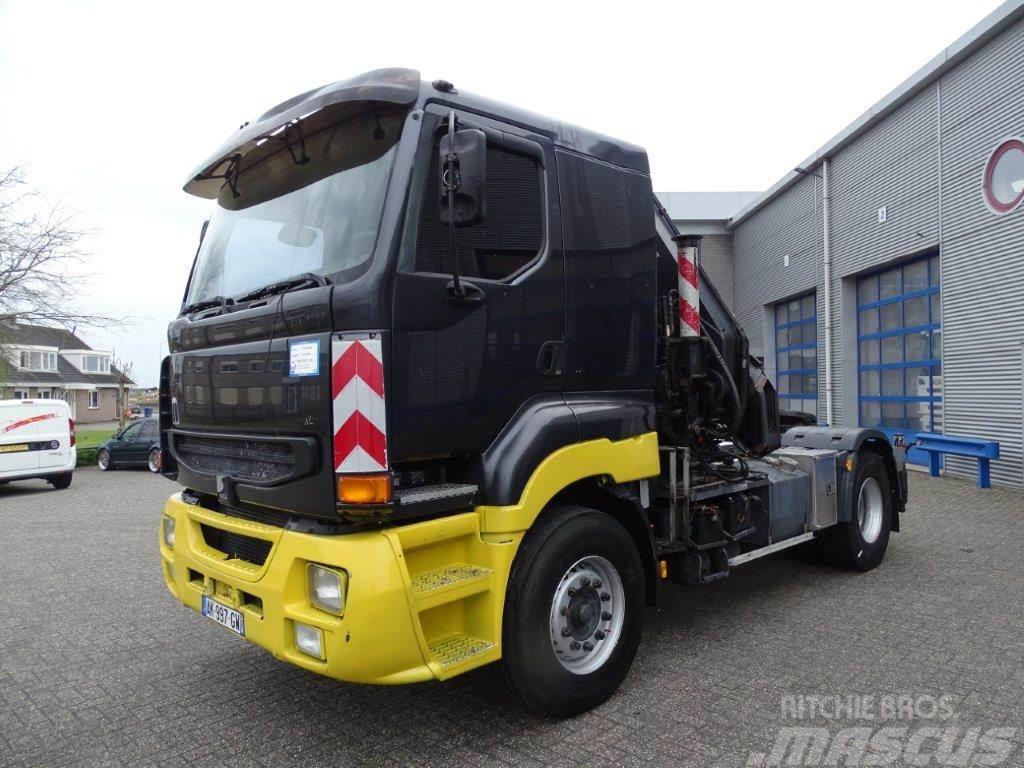 Renault KERAX-SISU-E14-11L-420 / EURO-2 / HIAB 36TM CRANE