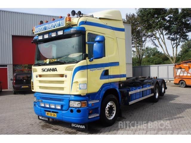 Scania R480 / HIGHLINE / AUTOMATIC / RETARDER / EURO-4 /