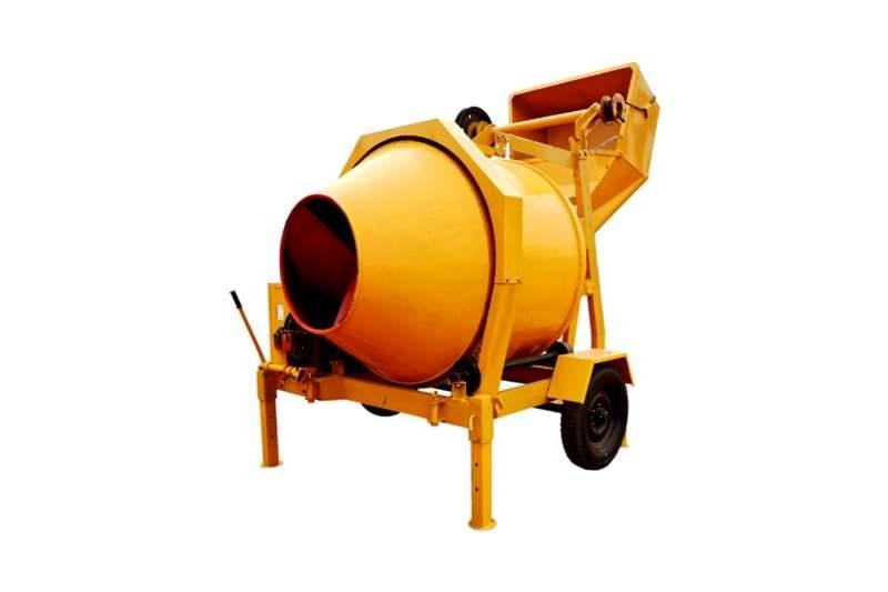 Sino Plant 800 Kg Diesel Concrete Mixer with Cable Skip