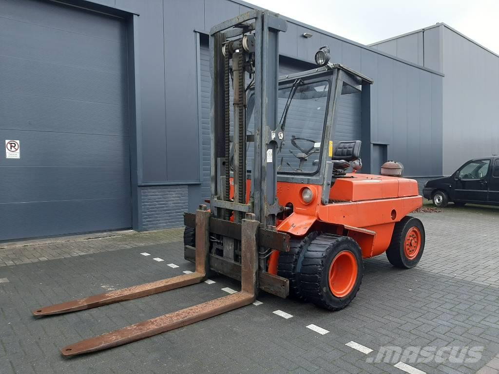 Linde H60D, 6 Cil. Deutz engine, Good working!