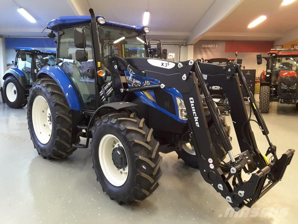 New Holland TD5.85 inkl Quicke X3S lastare Ny!