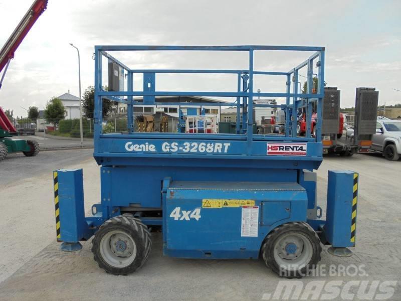 Genie GS 3268 RT diesel 4x4 11.75m