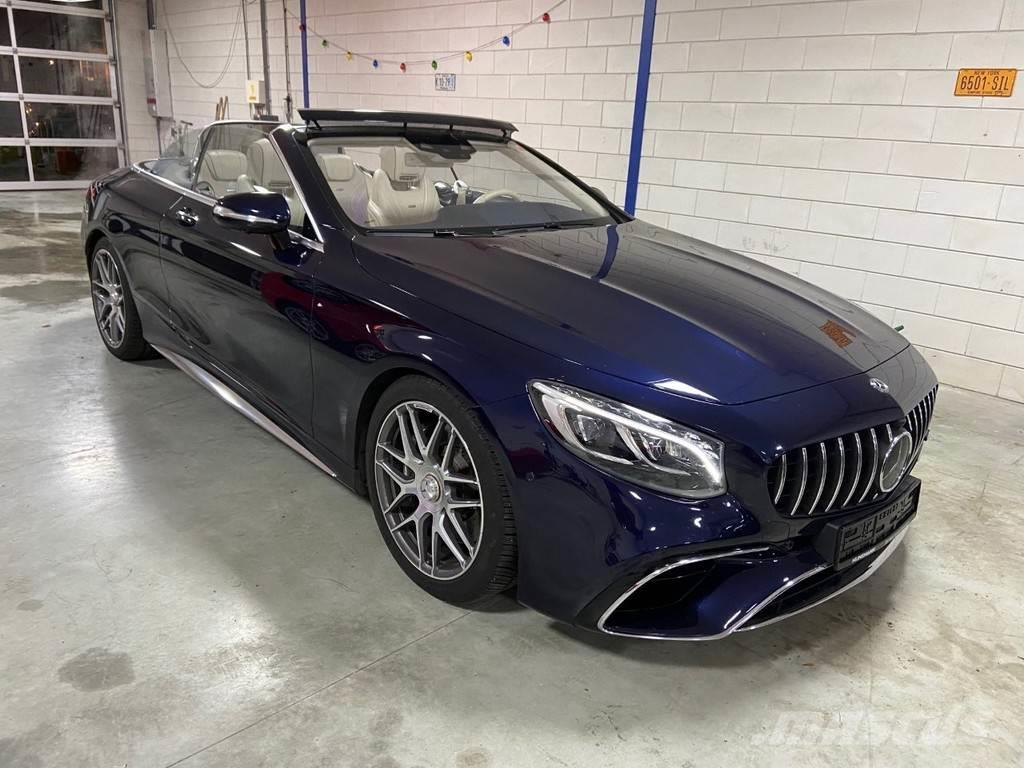 Mercedes-Benz S63 AMG Cabrio 4 Matic