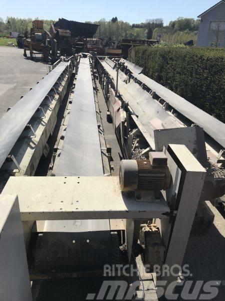 [Other] Bergeaud 4 Convoyeurs à bande 0,50 x 16 m