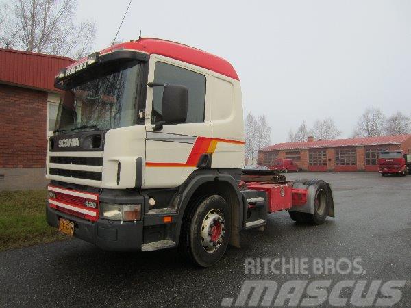 Scania P124 4X2 3700
