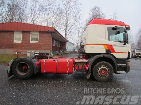 Scania P124 4X2 3700, 1999, Dragbilar