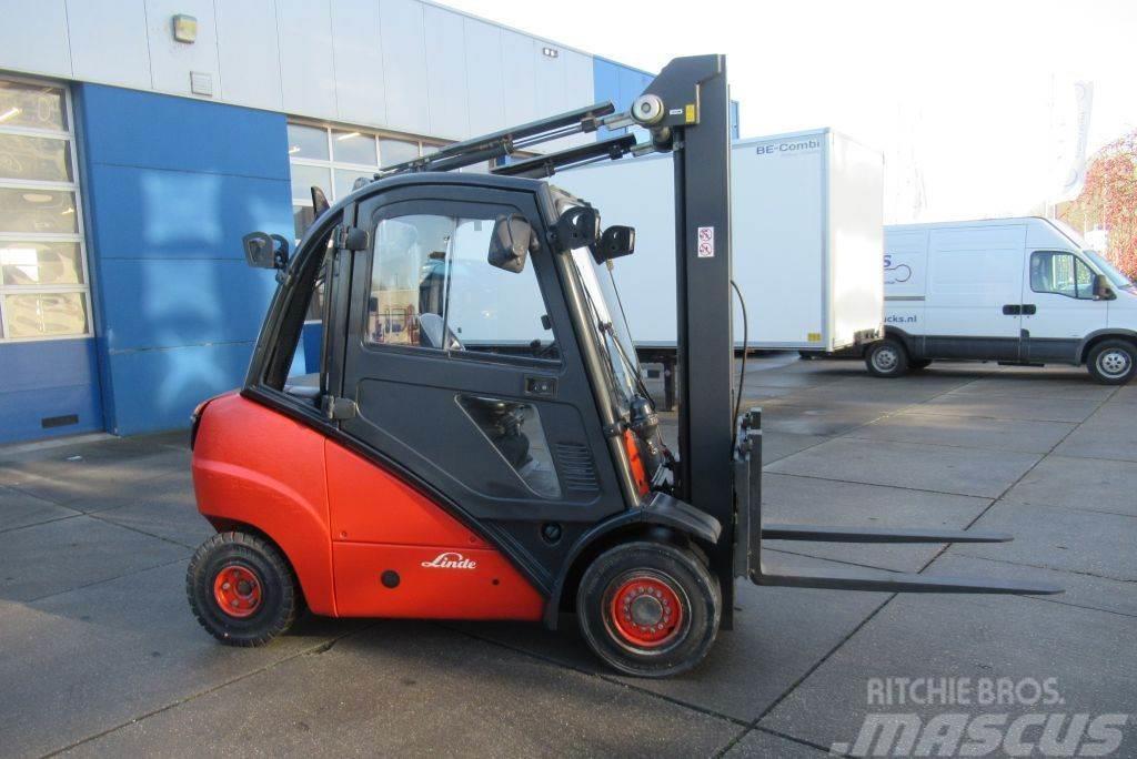 Linde H35D / Triplo / Side-shift / Diesel