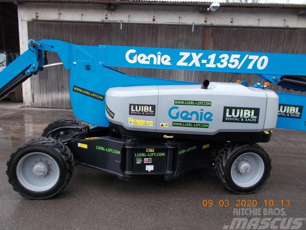 Genie ZX 135/70, low hours, 43m boom lift