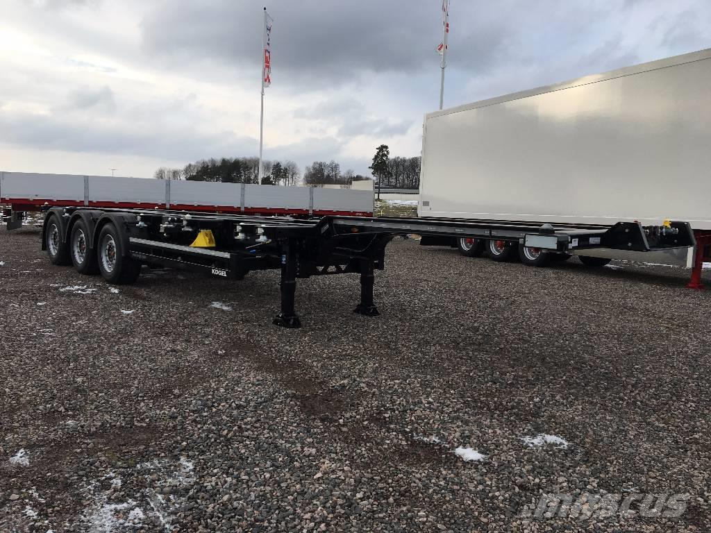 Kögel Containertrailer, RMG 658