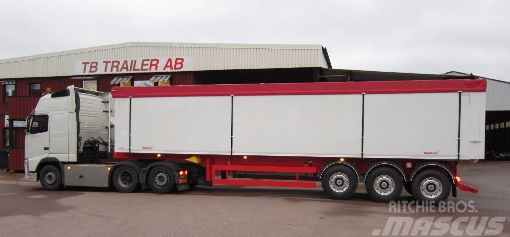 Benalu BULK O PALLGODS Tipptrailer 6100 kg Optiliner 3-ax