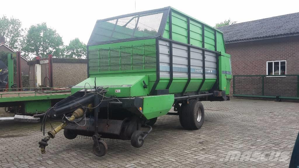 Deutz-fahr FE 6.31, 1989, Self loading trailers