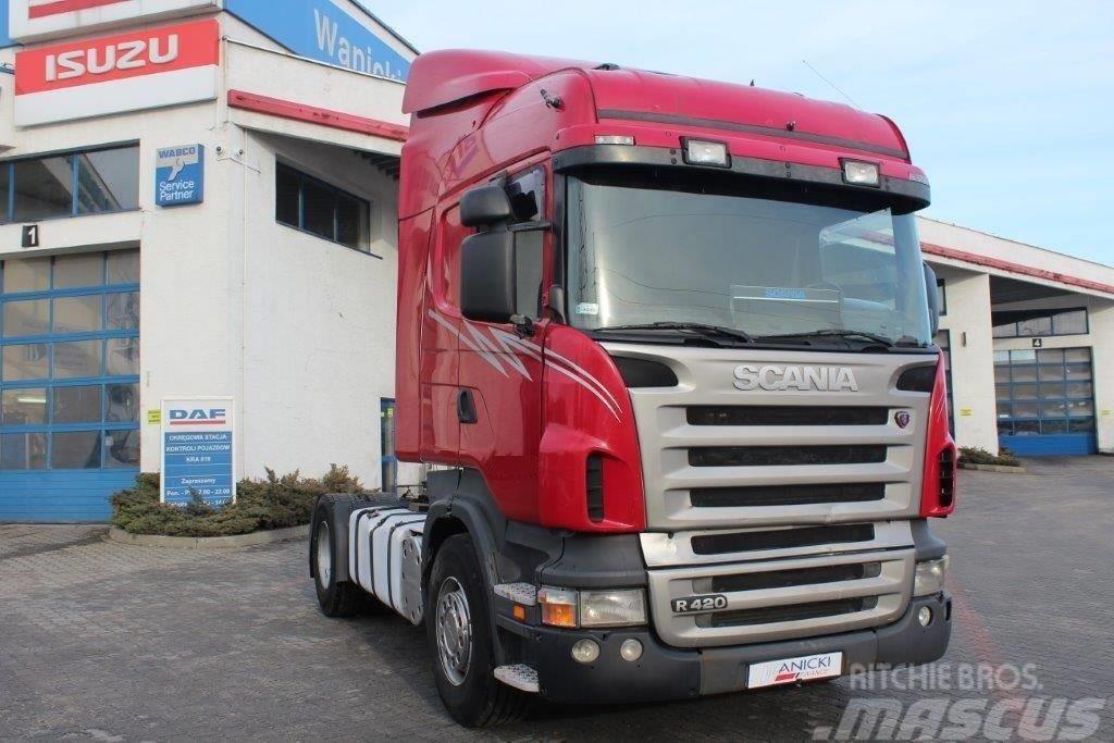 Scania 2007 R420 Highline Retarder
