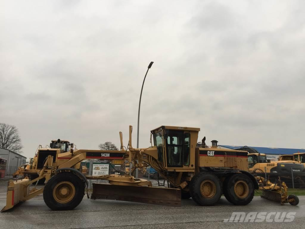 Caterpillar 143 H 6x6 Klima Original 5.131 Hours + Laser