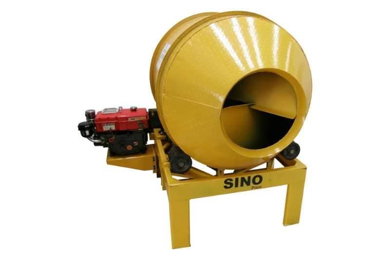Sino Plant 600L Drum Mixer Diesel
