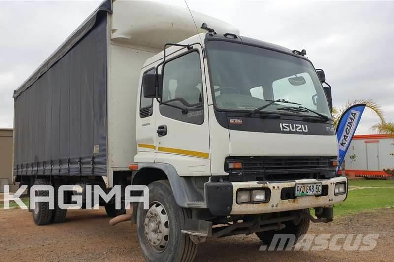 Isuzu FVR900 Curtain Side