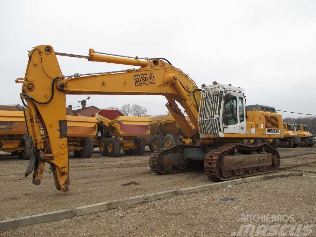 Liebherr R 954 B HD, 2001, Crawler Excavators ...