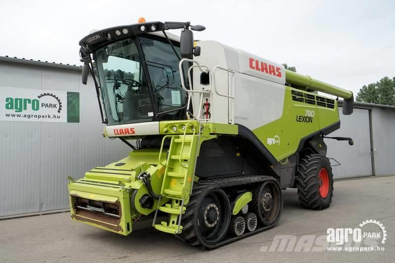 CLAAS Lexion 780 TT (1007/1442 hours), Mercedes 600 hp