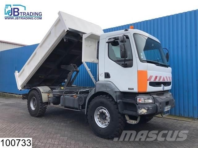 Renault Kerax 270 Manual, Steel suspension, Hub reduction