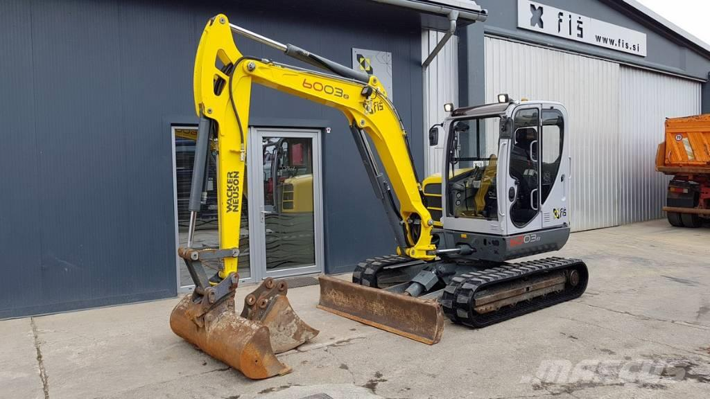 Wacker Neuson 6003 - NEW TRACKS