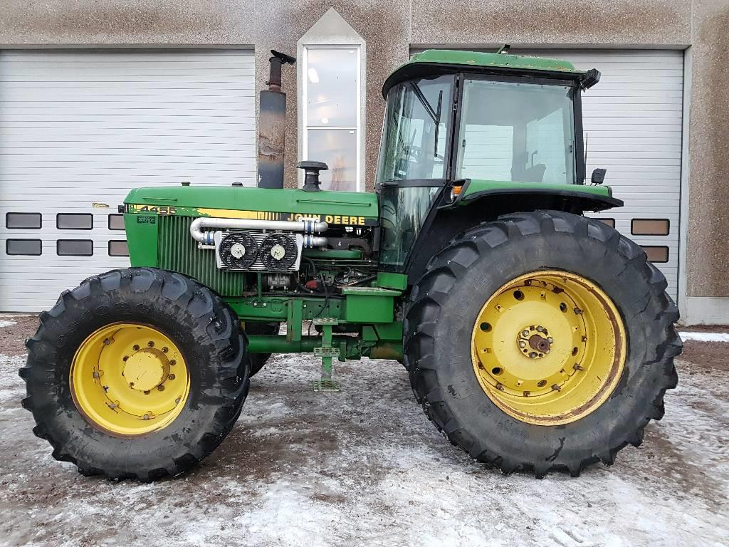 used john deere 4455 tractors year 1989 for sale mascus usa. Black Bedroom Furniture Sets. Home Design Ideas