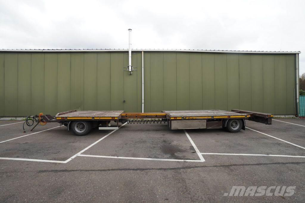 Draco 2 FLATBED TRAILER EXTENDABLE 2X