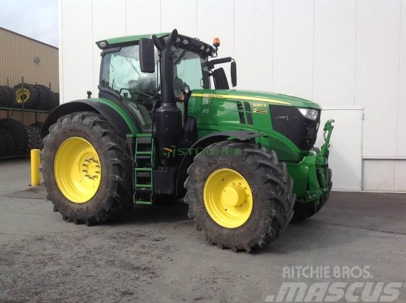john deere 6250r 2018 rietberg germany  used tractors