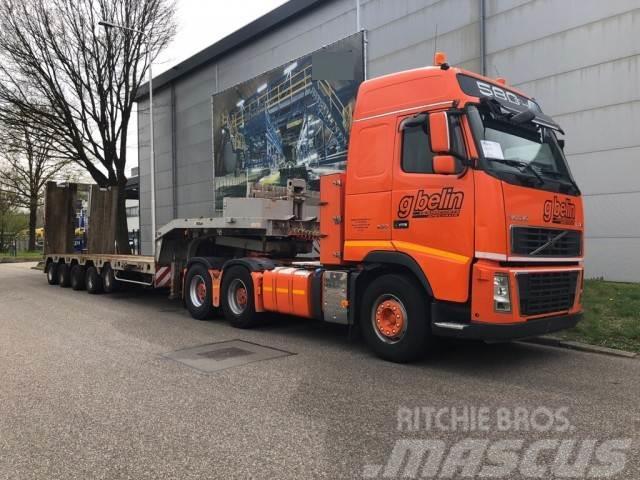 Nicolas Lowbed 79500 KG, Truck (2007)  FH16 580 6x4, Retar