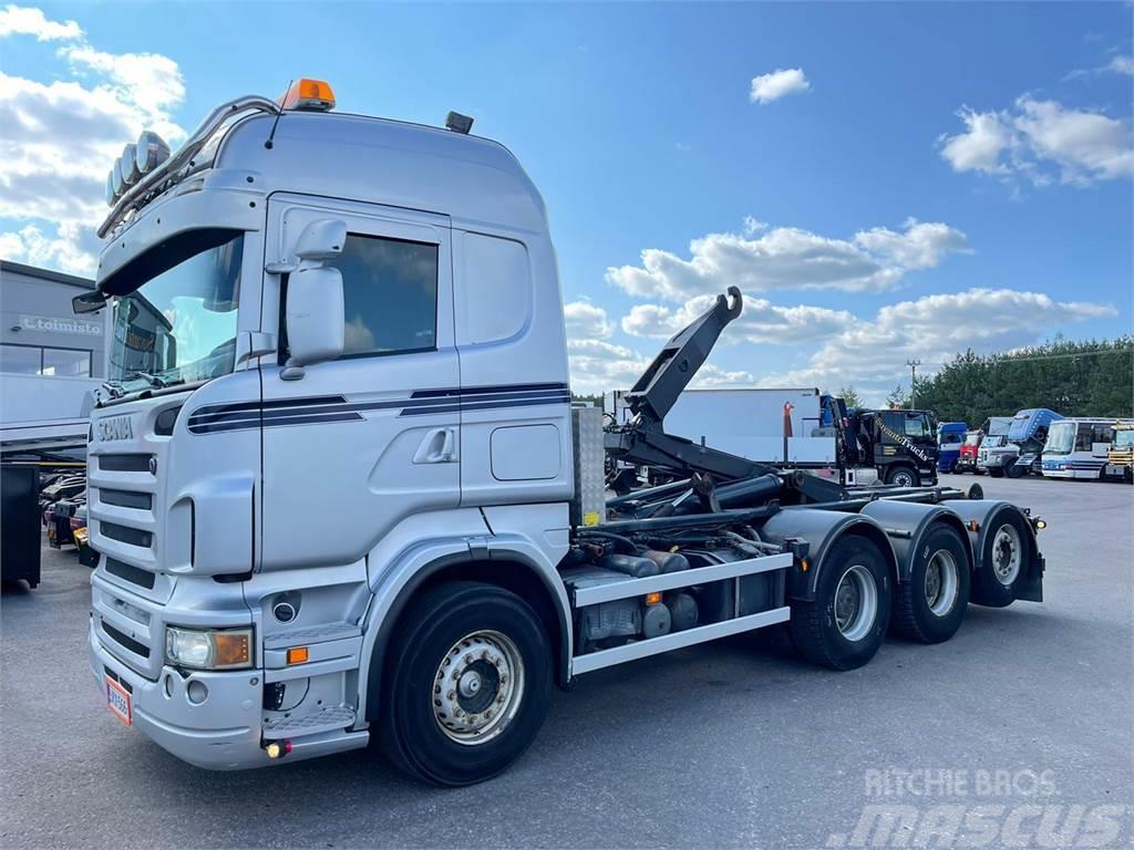 Scania R 480 8x4 tridem