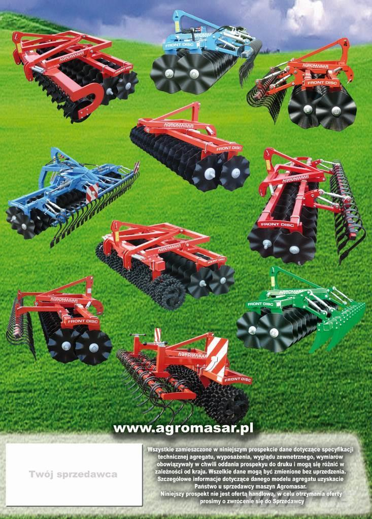 Agromasar Front Disc paker