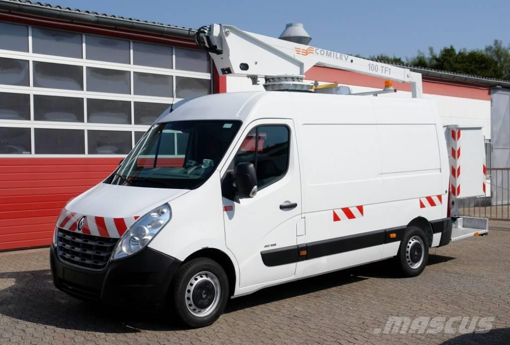Renault Master 125 Arbeitsbühne 10m Klima E5 TÜV UVV
