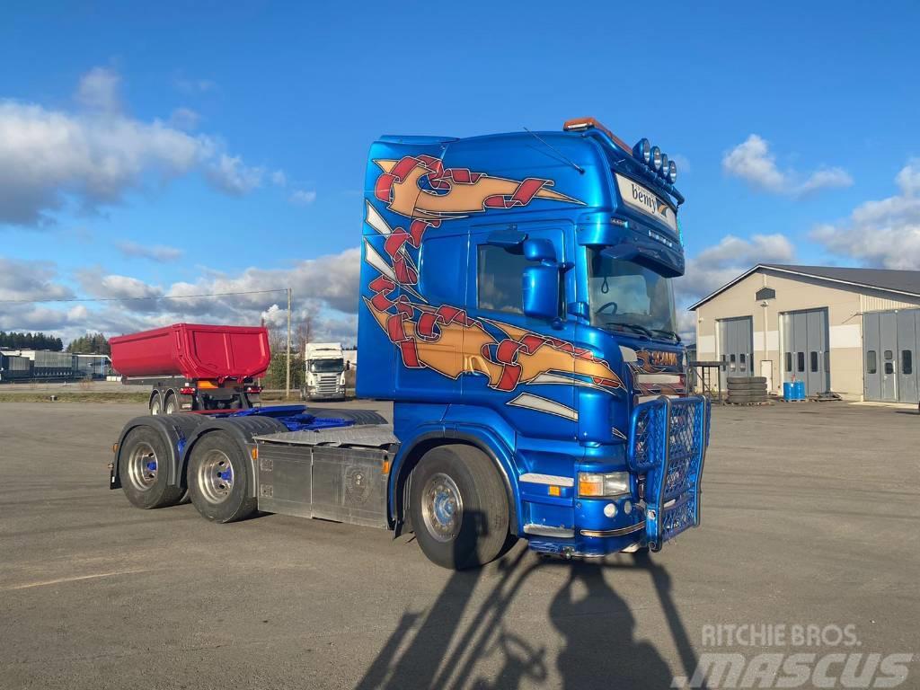 Scania R 620 6x4 Hydrauiikka