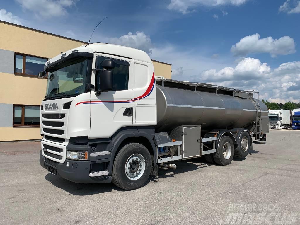 Scania R480 6x2+RETARDER+MILKTRUCK
