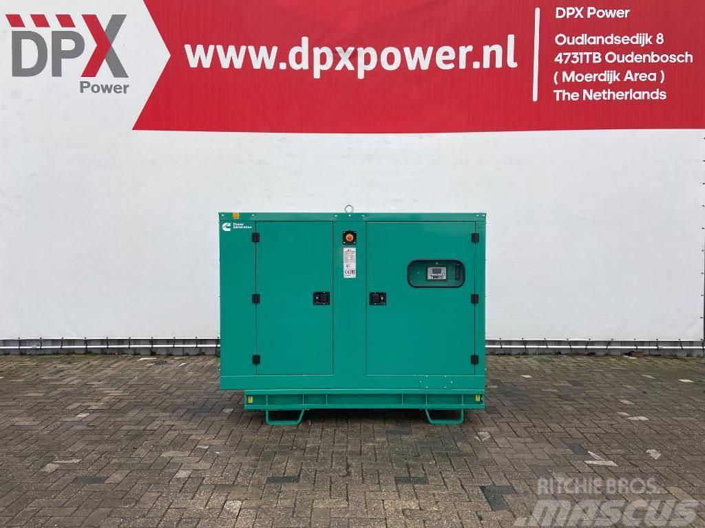 Cummins C66D5e - 66 kVA Generator - DPX-18507