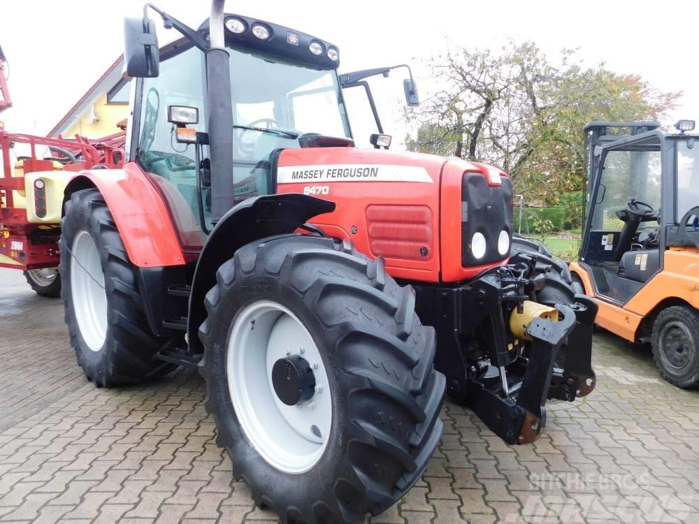 massey ferguson 6470 allrad traktor gebrauchte traktoren. Black Bedroom Furniture Sets. Home Design Ideas