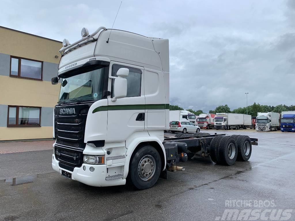 Scania R730 6X4 + RETARDER+ EURO6