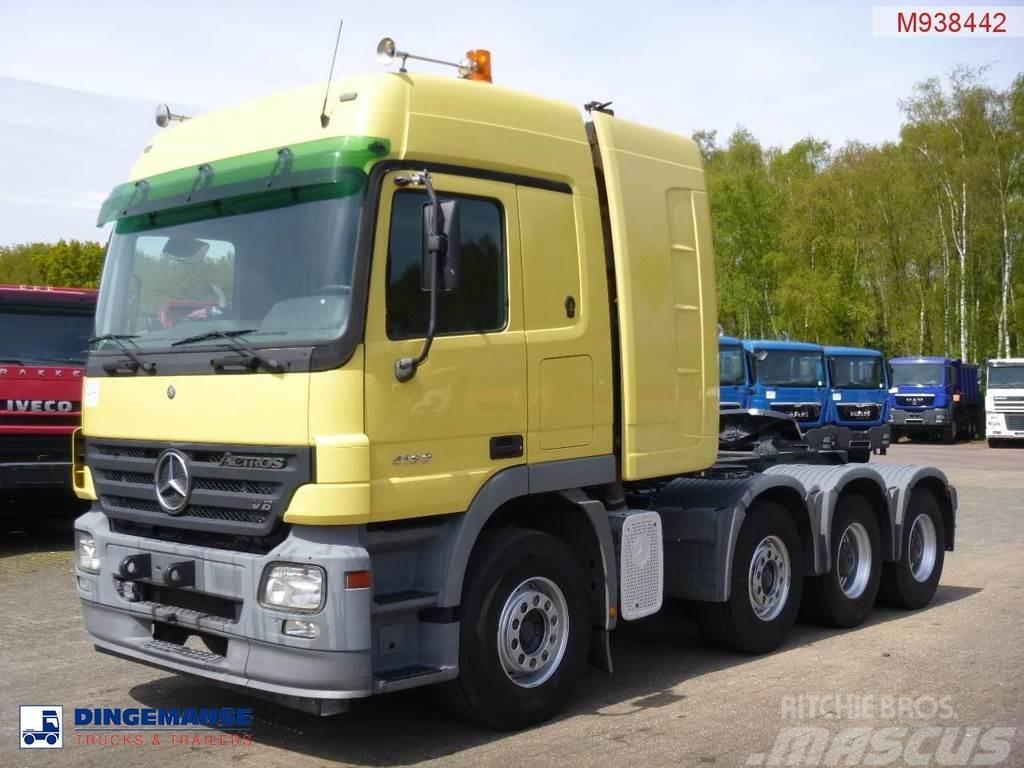 Mercedes-Benz Actros 4160 8X4 250 ton manual, torque converter