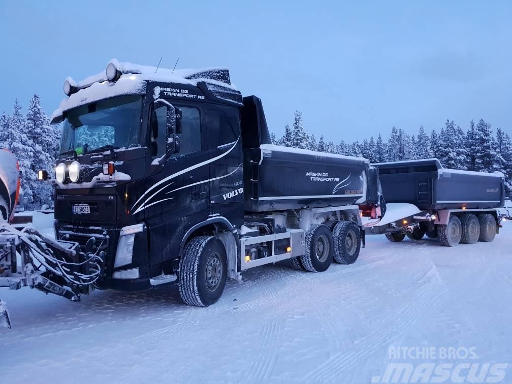 Volvo FH 500 6x4 med brøyt