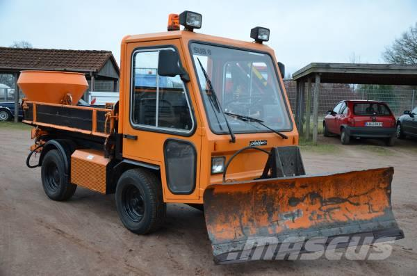 Multicar Winterdienst Platten P4 / H