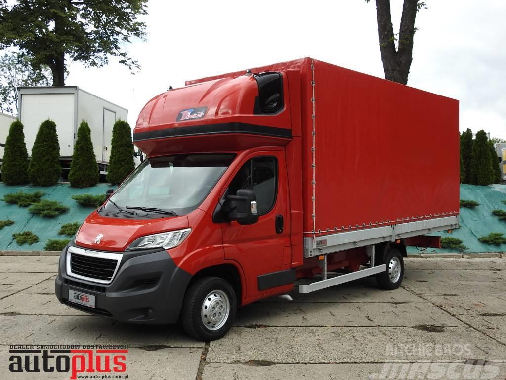 Peugeot BOXER PLANDEKA 10 EUROPALET WEBASTO KLIMATYZACJA