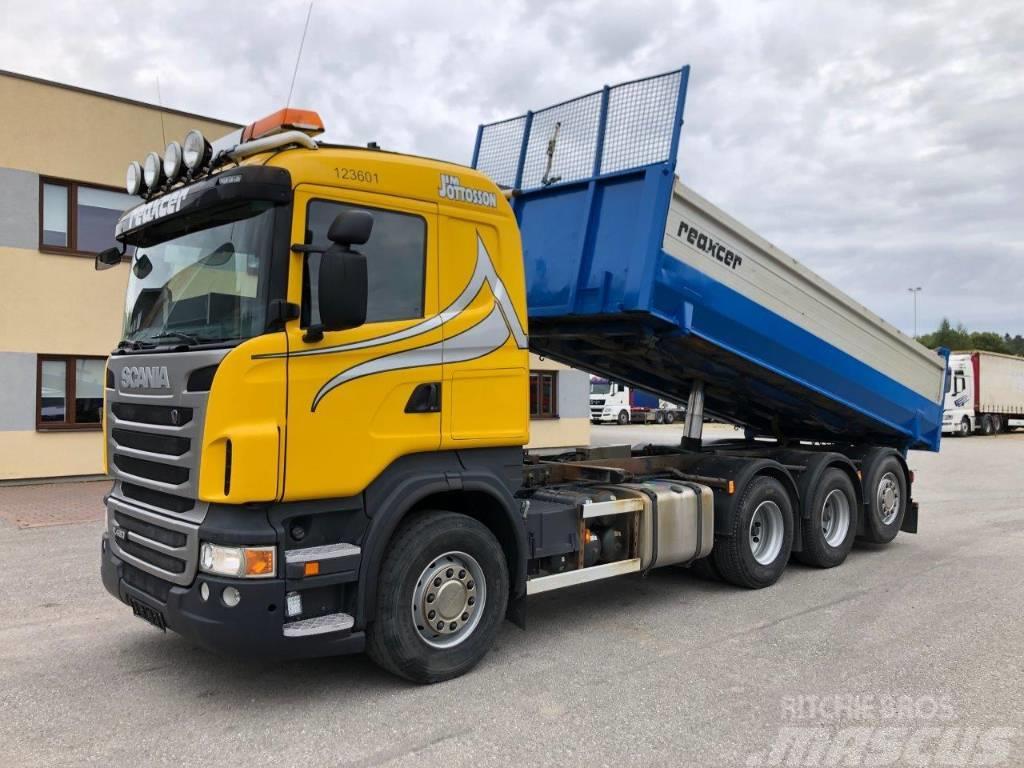 Scania R480 8x4 EURO5 2-WAY TIPPER+ RETARDER