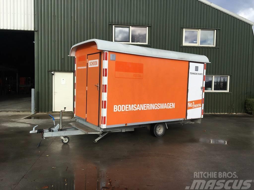 Atec 5x Brouwer Bodemsaneringswagen / Schaftkeet