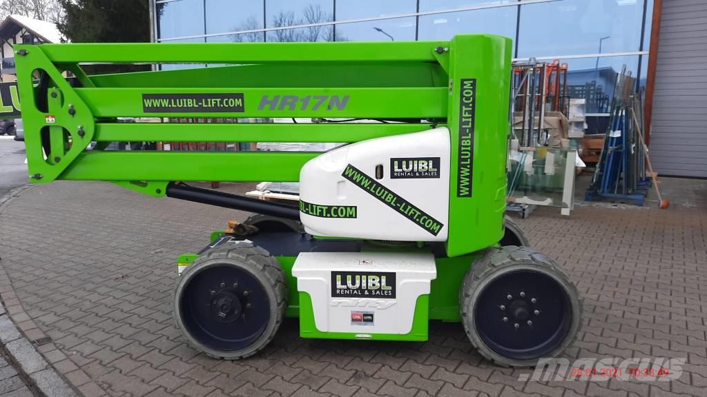 Niftylift HR 17 NE / 323 operating hours